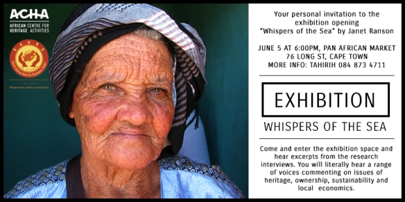 Exhibition Opening: Whispers of the Sea